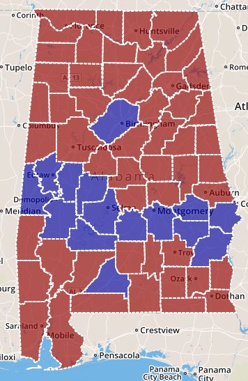 Interactive Maps Of Alabama