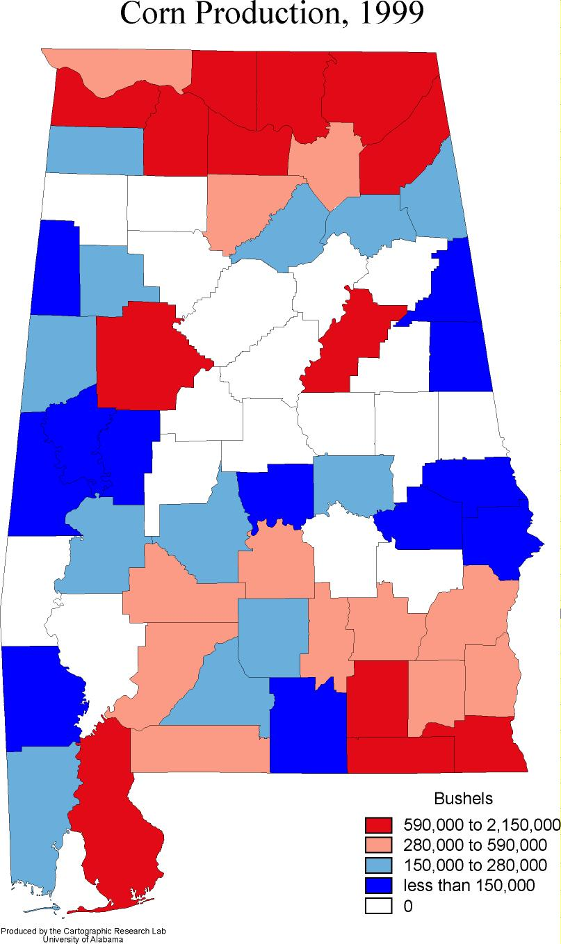 Alabama Outline Maps And Map Links - Political map of alabama
