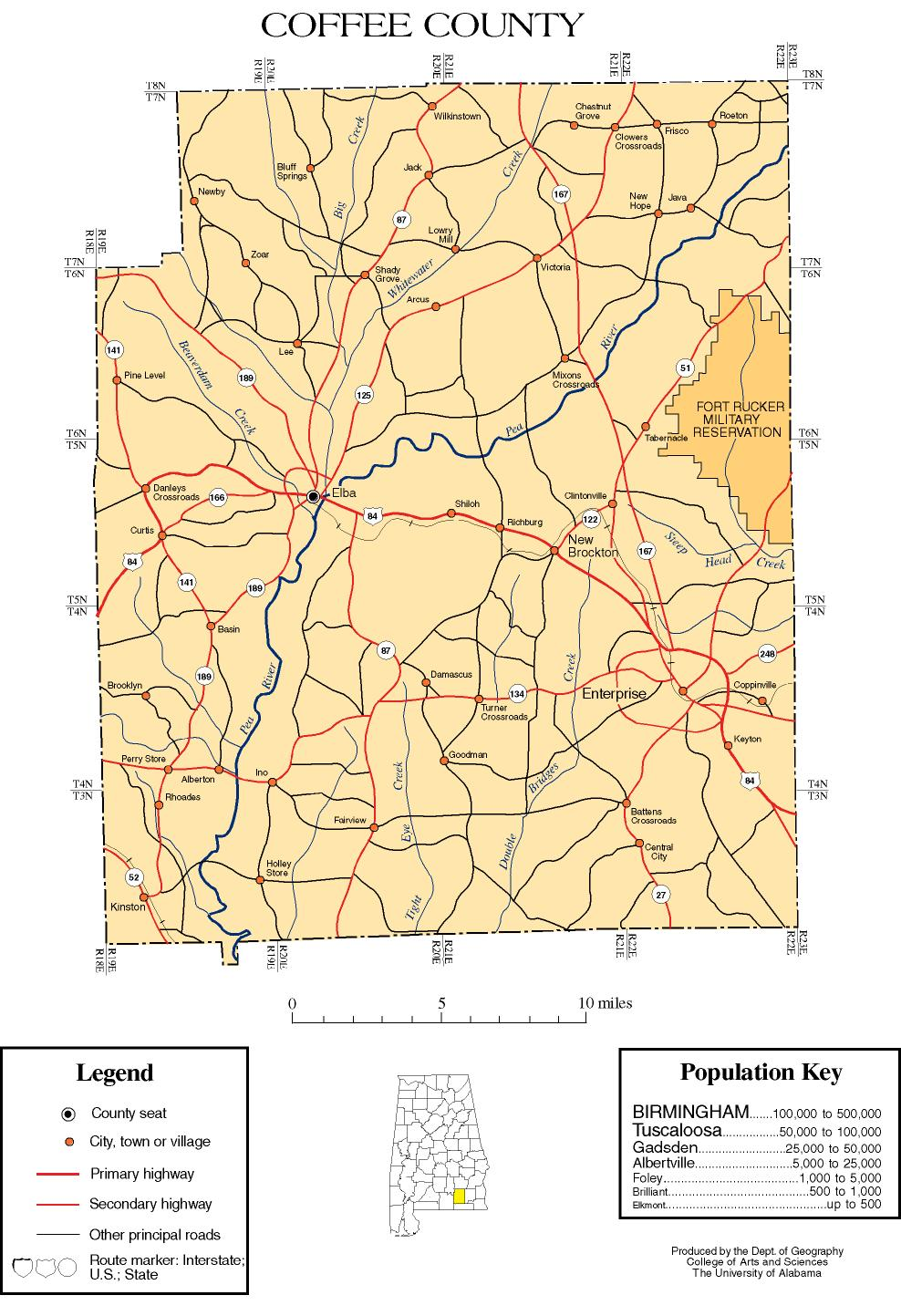coffee county alabama history adah - map of alabama counties with coffee county highlighted