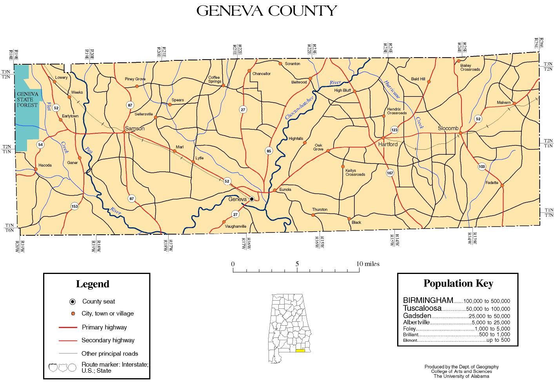 Geneva County, Alabama history, ADAH