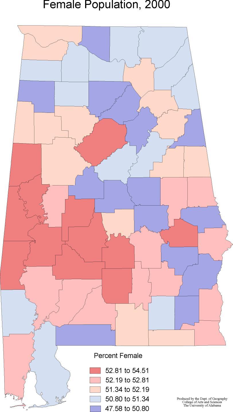 Alabama Maps  Demographics