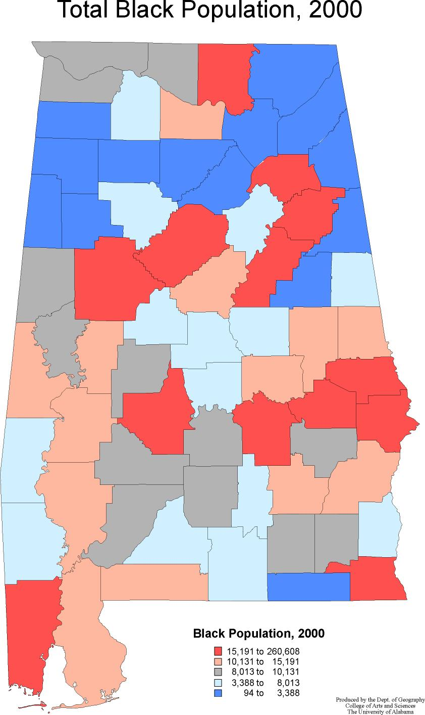 a geography of alabama