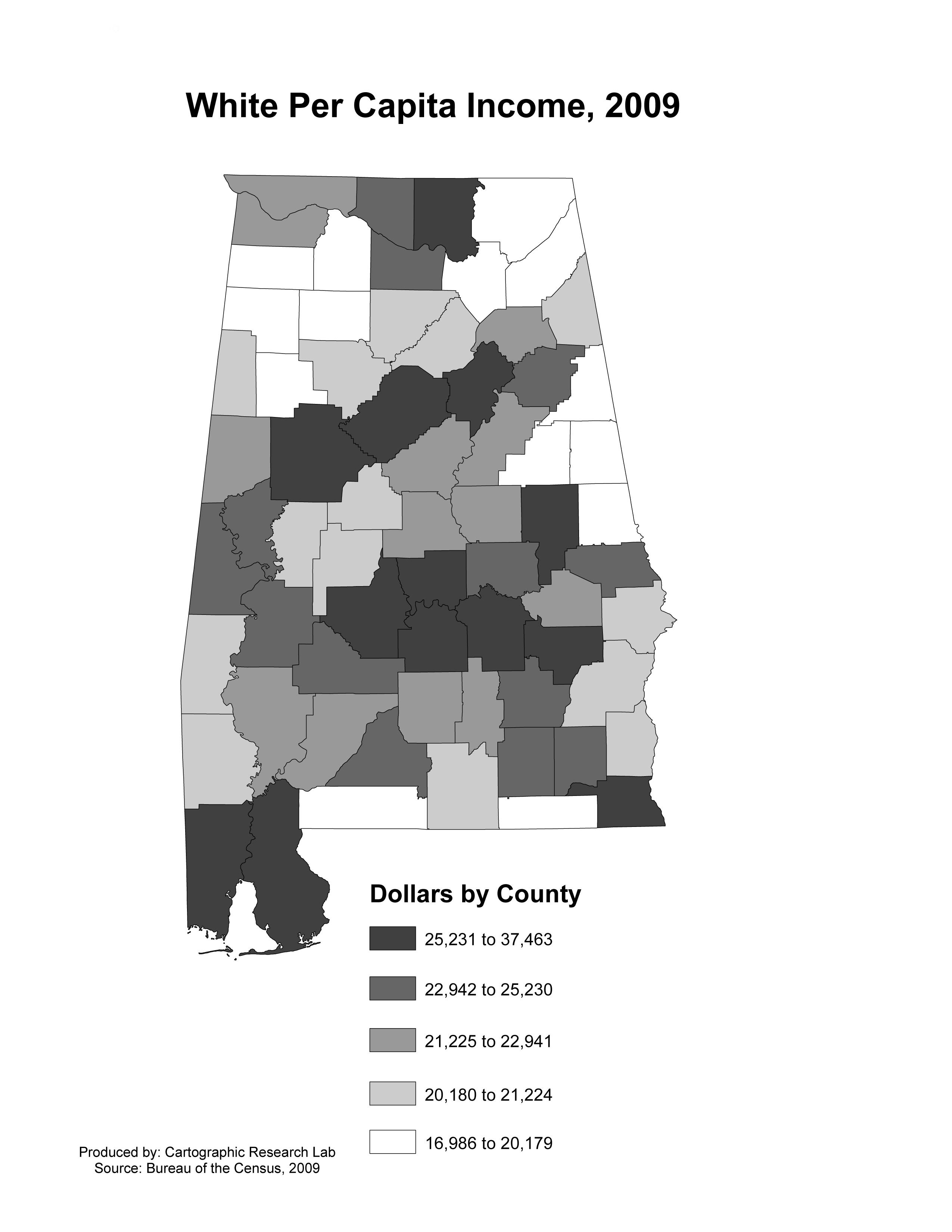 Alabama Maps Income  Poverty - Us counties per capita income
