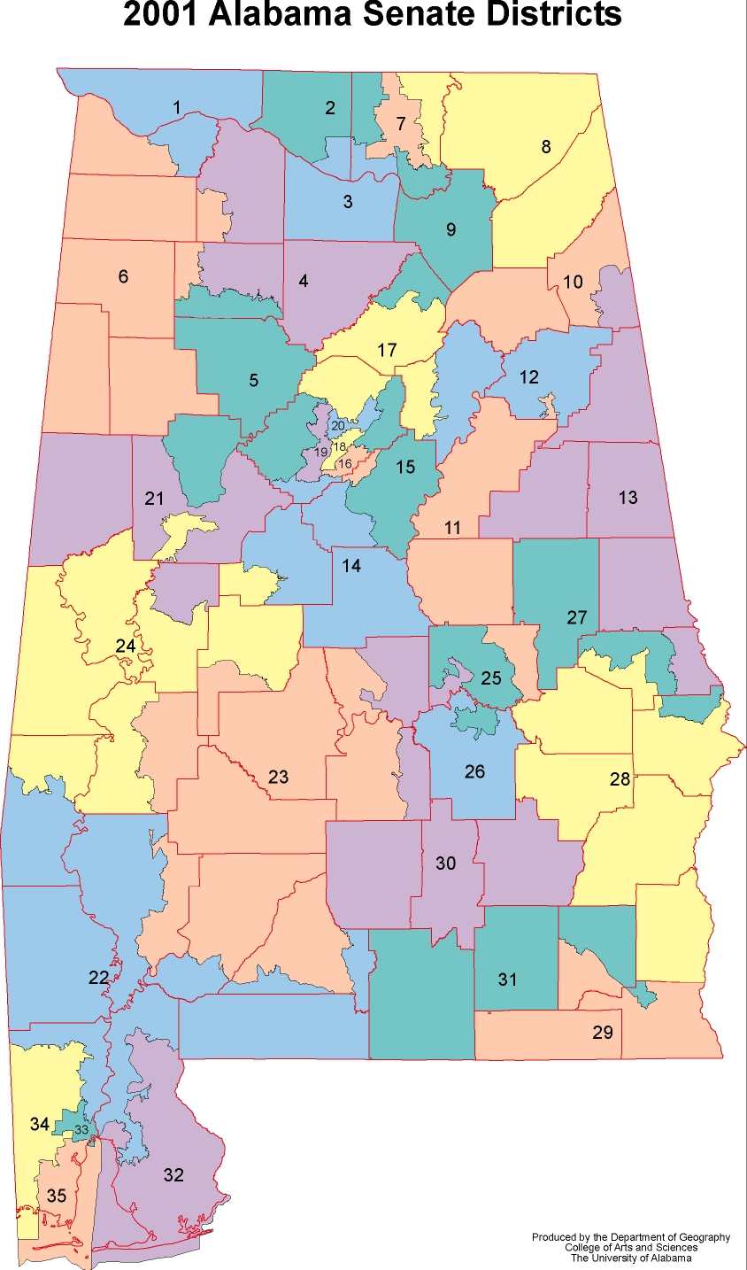 Alabama State Map By County.Alabama Maps Politics