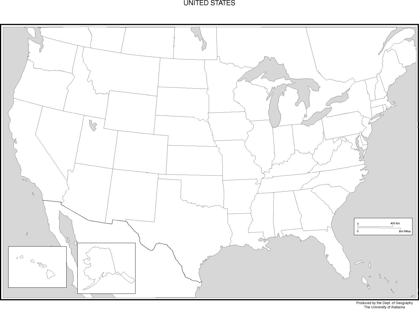Find Map USA Here Maps Of United States Part Printable Usa - Blank us map with states