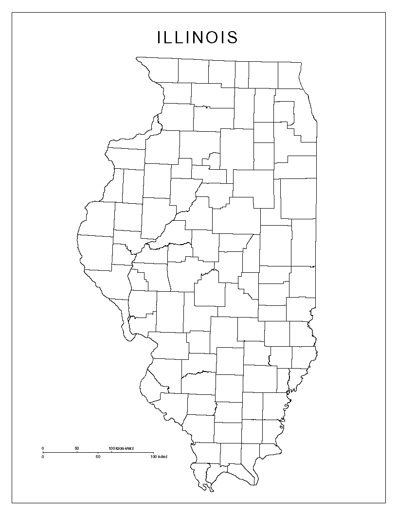 Maps Of Illinois - United states map illinois