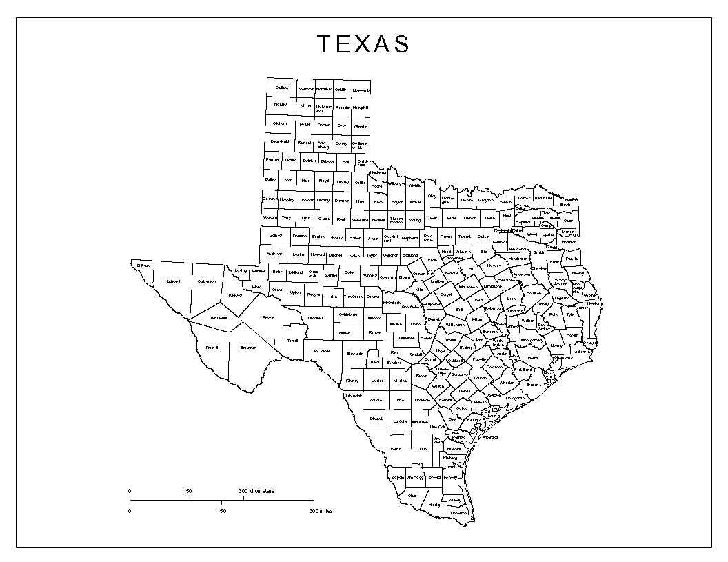 texas counties map pdf Dolapmagnetbandco