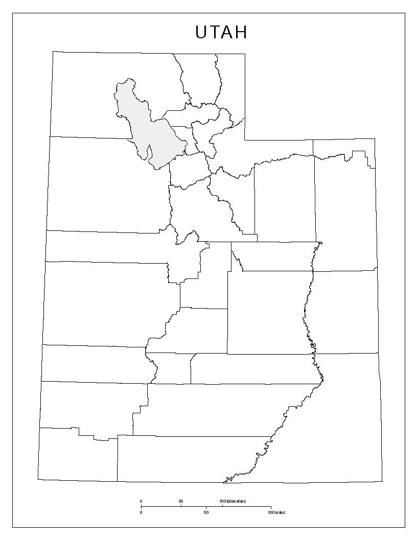 Maps Of Utah - Map of utah county