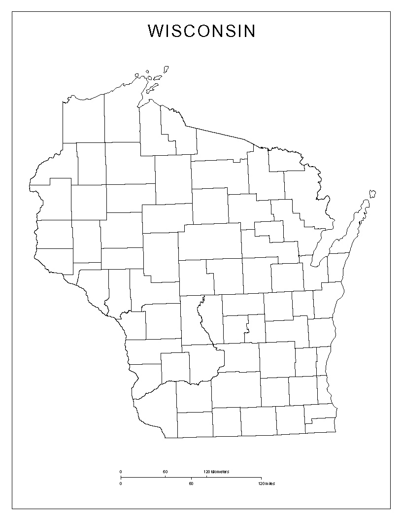 Maps of Wisconsin