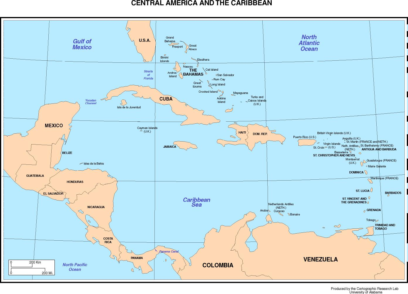 Maps Of The Americas - World map with countries names and capitals pdf