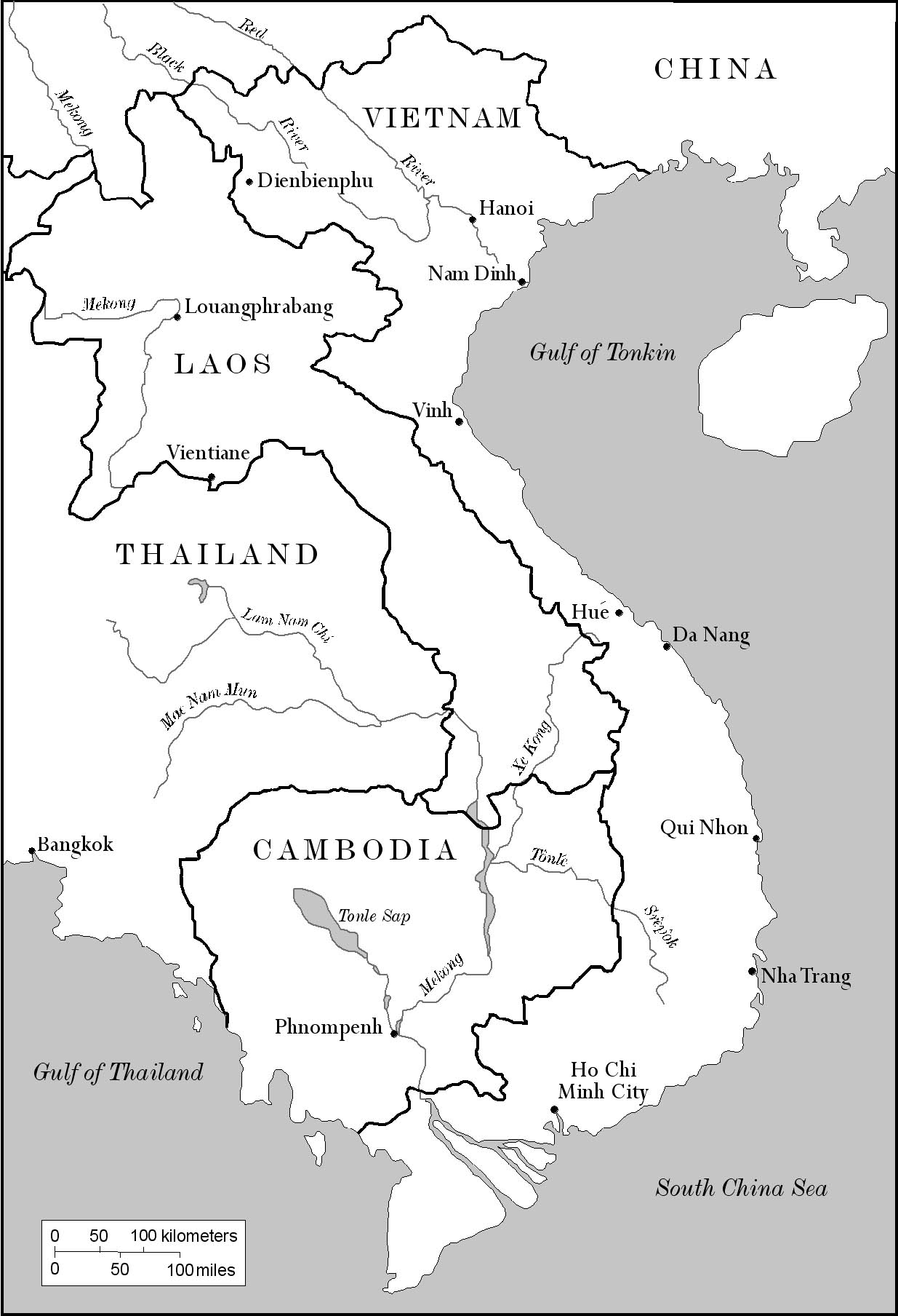 Blank map of vietnam for Vietnam coloring pages