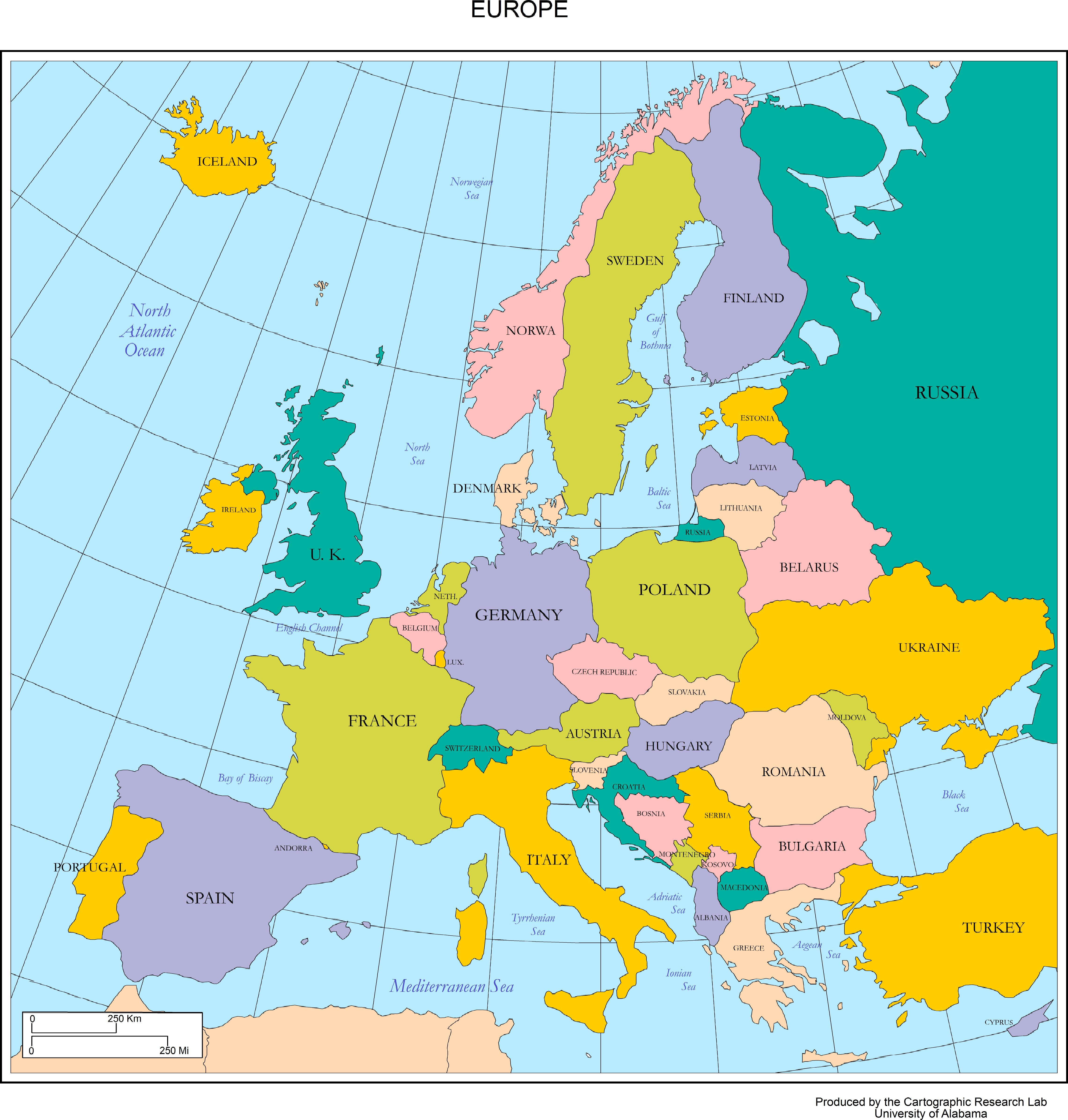 Map Of Europe In 1914