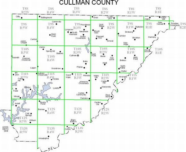 Property Ownership Maps of Cullman County, 1936