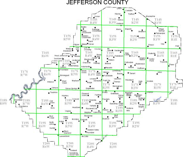 Property Ownership Maps Of Jefferson County 1936