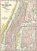 Historical Maps Of New York